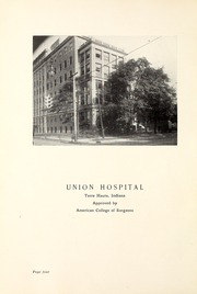 Page 8, 1929 Edition, Union Hospital School of Nursing - Stethoscope Yearbook (Terre Haute, IN) online yearbook collection