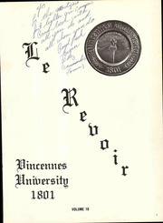Page 7, 1968 Edition, Vincennes University - Le Revoir Yearbook (Vincennes, IN) online yearbook collection