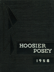 1958 Edition, Robb Township High School - Hoosier Posey Yearbook (Poseyville, IN)