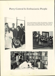 Page 10, 1961 Edition, Perry Central Junior High School - Pillar Yearbook (Indianapolis, IN) online yearbook collection