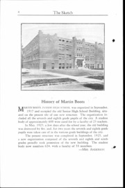 Page 5, 1930 Edition, Martin Boots Junior High School - Sketch Yearbook (Marion, IN) online yearbook collection