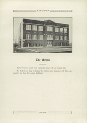 Page 11, 1929 Edition, Bridgeton High School - Raccoon Yearbook (Bridgeton, IN) online yearbook collection