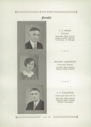 Page 12, 1929 Edition, Bridgeton High School - Raccoon Yearbook (Bridgeton, IN) online yearbook collection