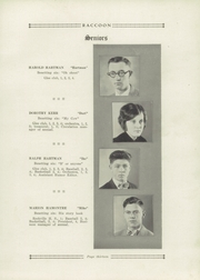 Page 17, 1929 Edition, Bridgeton High School - Raccoon Yearbook (Bridgeton, IN) online yearbook collection