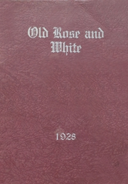1928 Edition, Helt Township High School - Old Rose and White Yearbook (Dana, IN)