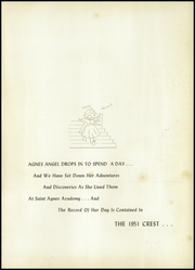 Page 5, 1951 Edition, St Agnes Academy - Crest Yearbook (Indianapolis, IN) online yearbook collection