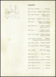 Page 9, 1951 Edition, St Agnes Academy - Crest Yearbook (Indianapolis, IN) online yearbook collection