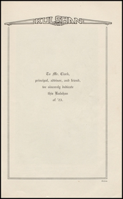 Page 11, 1923 Edition, Whatcom High School - Kulshan Yearbook (Bellingham, WA) online yearbook collection