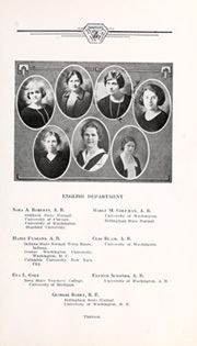 Page 17, 1924 Edition, Whatcom High School - Kulshan Yearbook (Bellingham, WA) online yearbook collection