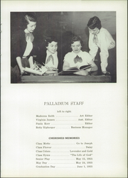 Page 17, 1955 Edition, St Joseph Academy - Palladium Yearbook (Tipton, IN) online yearbook collection