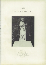 Page 5, 1955 Edition, St Joseph Academy - Palladium Yearbook (Tipton, IN) online yearbook collection