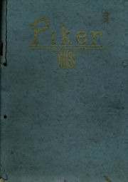 Page 1, 1923 Edition, West Lebanon High School - Piker Yearbook (West Lebanon, IN) online yearbook collection