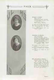 Page 13, 1923 Edition, West Lebanon High School - Piker Yearbook (West Lebanon, IN) online yearbook collection