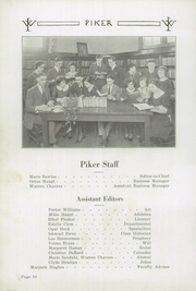 Page 14, 1923 Edition, West Lebanon High School - Piker Yearbook (West Lebanon, IN) online yearbook collection