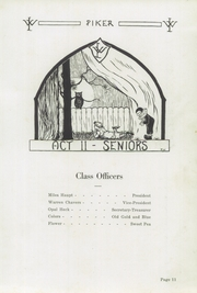 Page 15, 1923 Edition, West Lebanon High School - Piker Yearbook (West Lebanon, IN) online yearbook collection