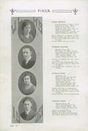 Page 16, 1923 Edition, West Lebanon High School - Piker Yearbook (West Lebanon, IN) online yearbook collection