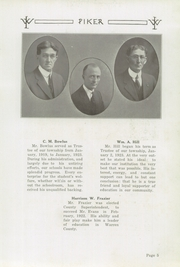 Page 9, 1923 Edition, West Lebanon High School - Piker Yearbook (West Lebanon, IN) online yearbook collection