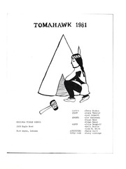 Page 7, 1981 Edition, Kekionga Middle School - Tomahawk Yearbook (Fort Wayne, IN) online yearbook collection