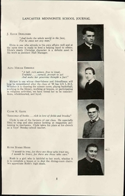Page 13, 1944 Edition, Lancaster Mennonite High School - Laurel Wreath Yearbook (Lancaster, PA) online yearbook collection