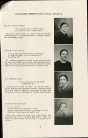 Page 17, 1944 Edition, Lancaster Mennonite High School - Laurel Wreath Yearbook (Lancaster, PA) online yearbook collection