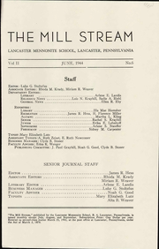 Page 9, 1944 Edition, Lancaster Mennonite High School - Laurel Wreath Yearbook (Lancaster, PA) online yearbook collection