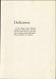 Page 7, 1953 Edition, Lancaster Mennonite High School - Laurel Wreath Yearbook (Lancaster, PA) online yearbook collection