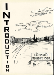 Page 10, 1956 Edition, Lancaster Mennonite High School - Laurel Wreath Yearbook (Lancaster, PA) online yearbook collection