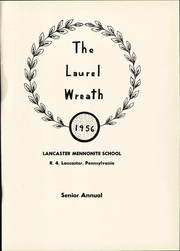Page 7, 1956 Edition, Lancaster Mennonite High School - Laurel Wreath Yearbook (Lancaster, PA) online yearbook collection