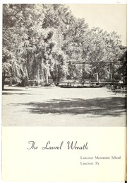 Page 12, 1960 Edition, Lancaster Mennonite High School - Laurel Wreath Yearbook (Lancaster, PA) online yearbook collection