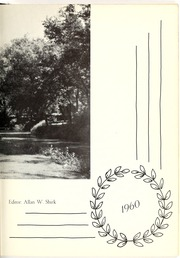 Page 13, 1960 Edition, Lancaster Mennonite High School - Laurel Wreath Yearbook (Lancaster, PA) online yearbook collection