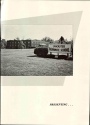 Page 11, 1962 Edition, Lancaster Mennonite High School - Laurel Wreath Yearbook (Lancaster, PA) online yearbook collection
