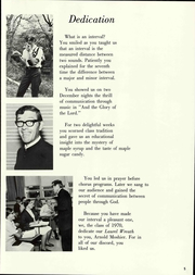 Page 11, 1970 Edition, Lancaster Mennonite High School - Laurel Wreath Yearbook (Lancaster, PA) online yearbook collection