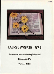 Page 7, 1975 Edition, Lancaster Mennonite High School - Laurel Wreath Yearbook (Lancaster, PA) online yearbook collection