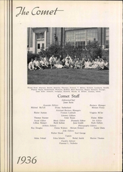 Page 14, 1936 Edition, Nazareth Area High School - Comet Yearbook (Nazareth, PA) online yearbook collection
