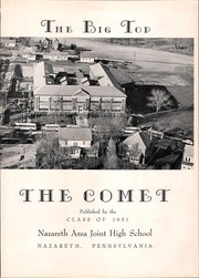 Page 5, 1951 Edition, Nazareth Area High School - Comet Yearbook (Nazareth, PA) online yearbook collection