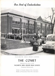Page 5, 1955 Edition, Nazareth Area High School - Comet Yearbook (Nazareth, PA) online yearbook collection