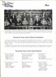 Page 8, 1955 Edition, Nazareth Area High School - Comet Yearbook (Nazareth, PA) online yearbook collection