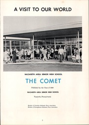 Page 5, 1959 Edition, Nazareth Area High School - Comet Yearbook (Nazareth, PA) online yearbook collection