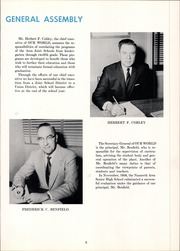 Page 9, 1959 Edition, Nazareth Area High School - Comet Yearbook (Nazareth, PA) online yearbook collection