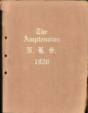 Northampton Area High School - Amptennian Yearbook (Northampton, PA) online yearbook collection, 1920 Edition, Page 1