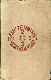 Page 1, 1923 Edition, Northampton Area High School - Amptennian Yearbook (Northampton, PA) online yearbook collection