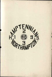 Page 3, 1923 Edition, Northampton Area High School - Amptennian Yearbook (Northampton, PA) online yearbook collection