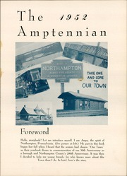Page 5, 1952 Edition, Northampton Area High School - Amptennian Yearbook (Northampton, PA) online yearbook collection