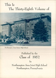 Page 6, 1952 Edition, Northampton Area High School - Amptennian Yearbook (Northampton, PA) online yearbook collection