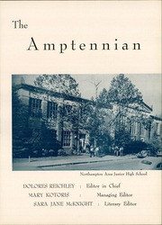 Page 7, 1952 Edition, Northampton Area High School - Amptennian Yearbook (Northampton, PA) online yearbook collection