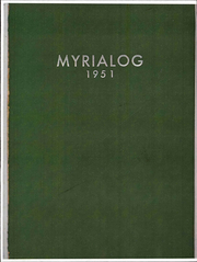 Myerstown High School - Myrialog Yearbook (Myerstown, PA) online yearbook collection, 1951 Edition, Page 1