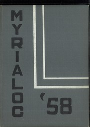 Page 1, 1958 Edition, Myerstown High School - Myrialog Yearbook (Myerstown, PA) online yearbook collection