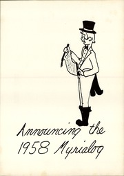 Page 7, 1958 Edition, Myerstown High School - Myrialog Yearbook (Myerstown, PA) online yearbook collection