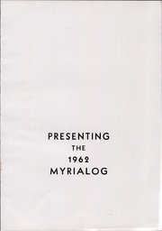 Page 5, 1962 Edition, Myerstown High School - Myrialog Yearbook (Myerstown, PA) online yearbook collection