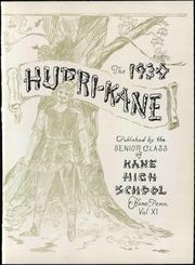 Page 11, 1930 Edition, Kane Area High School - HurriKane Yearbook (Kane, PA) online yearbook collection